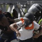 Opositores en Venezuela protestan contra Nicolas Maduro