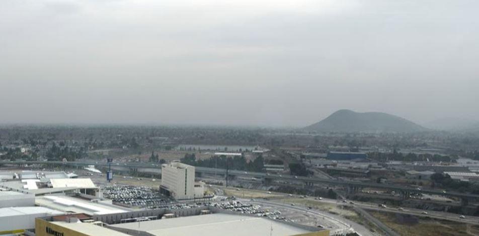 Vista panoramica de Ecatepec, Estado de Mexico