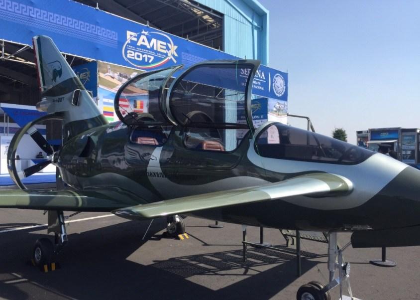 El prototipo de Pegasus, el primer avión diseñado y manufacturado en México (Twitter @pmaciasc)