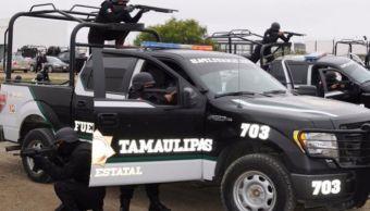 Operativo, policía estatal, Tamaulipas, Seguridad, Violencia, grupos delictivos