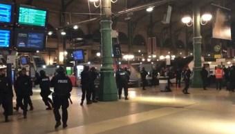 París, seguridad, tren, ataque, policía, Francia,