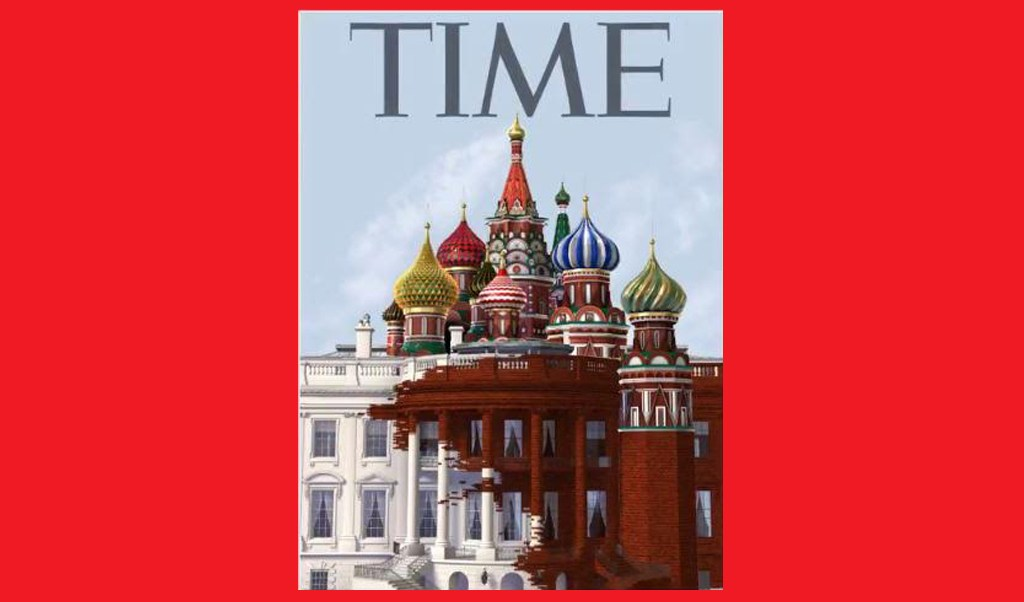 Casa Blanca en la portada de la revista TIME