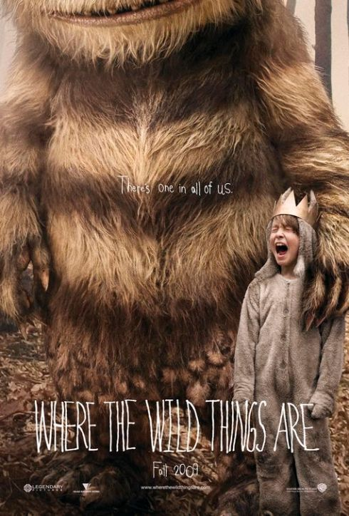 poster, pelicula, Where the Wild Things Are