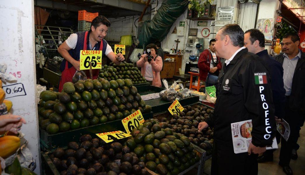 Profeco revisa los precios del aguacate