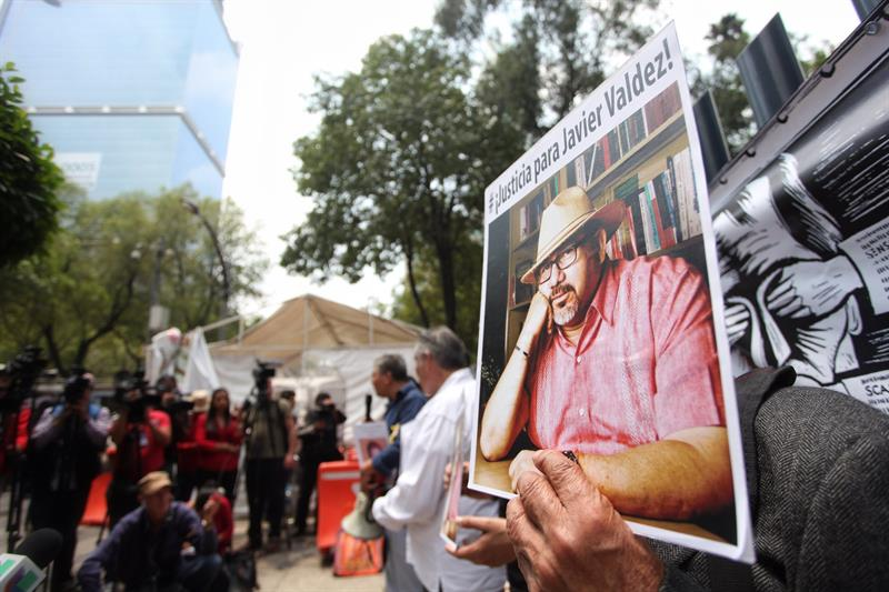 Javier Valdez, periodista, asesinato, protesta, violencia, seguridad