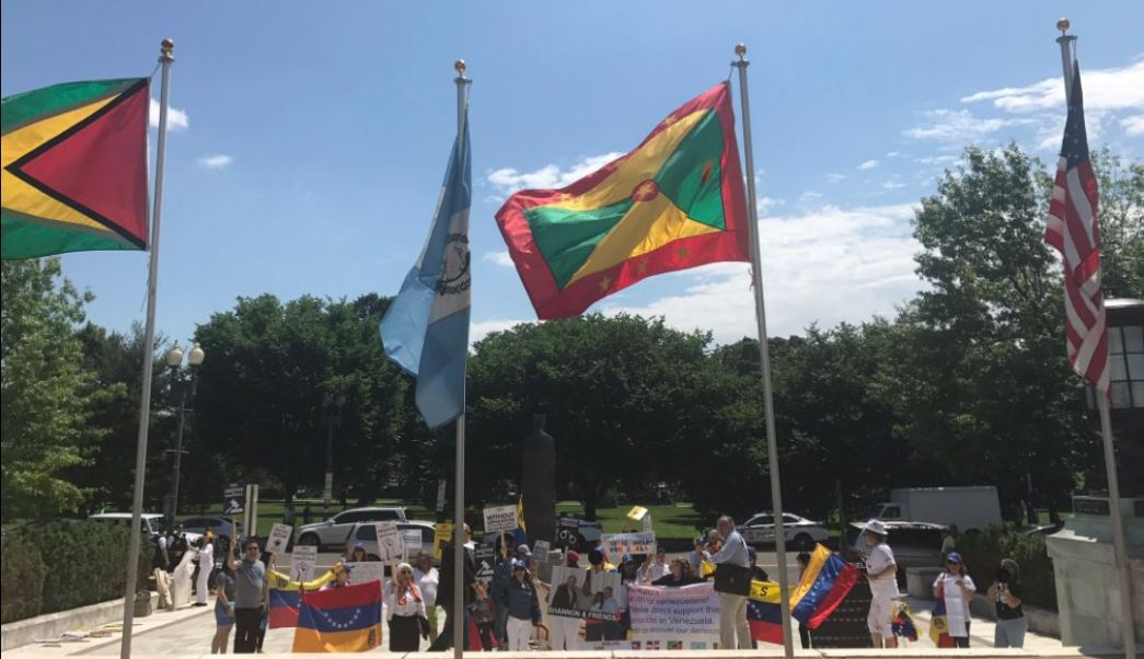 Venezolanos, protestas , oea, washington, venezuela