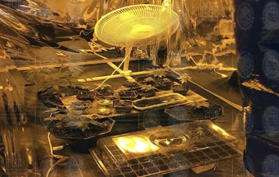 Aseguran laboratorio utilizado para elaborar droga en Puebla. (PGR)