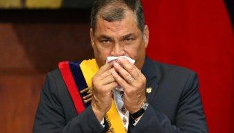Correa, neumonía, presidente, salud, hospital, Ecuador,