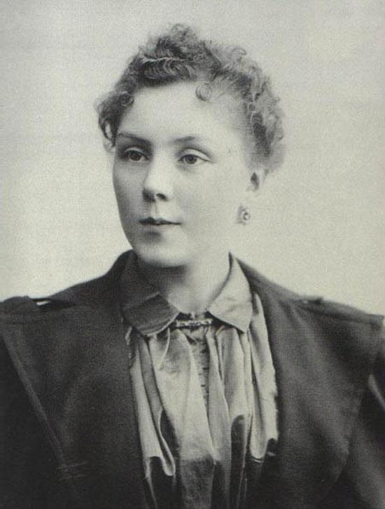 Retrato de Ana Cecilia Luisa Dailliez en Madrid, 1910