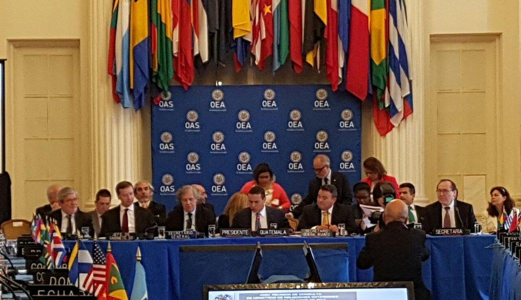 Venezuela, cancilleres, OEA, Constituyente, protestas, política,