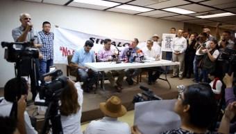 El gobernador de Sinaloa sostuvo un diálogo abierto con periodistas y representantes sociales. (Gobierno de Sinaloa)