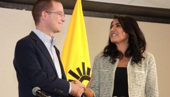 Ricardo Anaya y Alejandra Barrales convocan a frente opositor para 2018