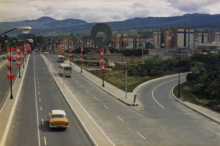 Ruta de la Amistad, México 68, arte, esculturas, Ciudad de México