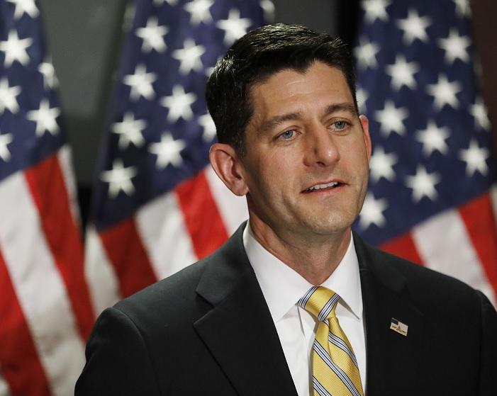 Paul Ryan, presidente de la Cámara de Representantes