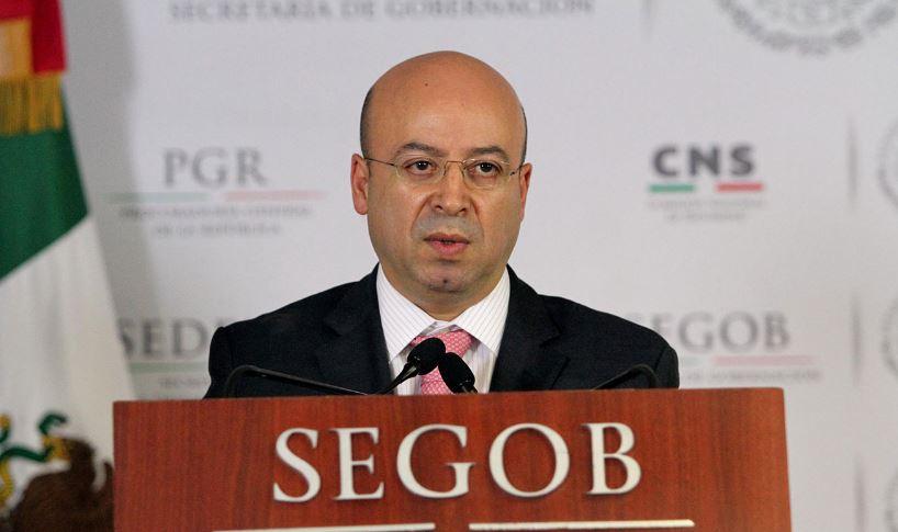 El Comisionado Nacional de Seguridad, Renato Sales Heredia (Notimex/Archivo)