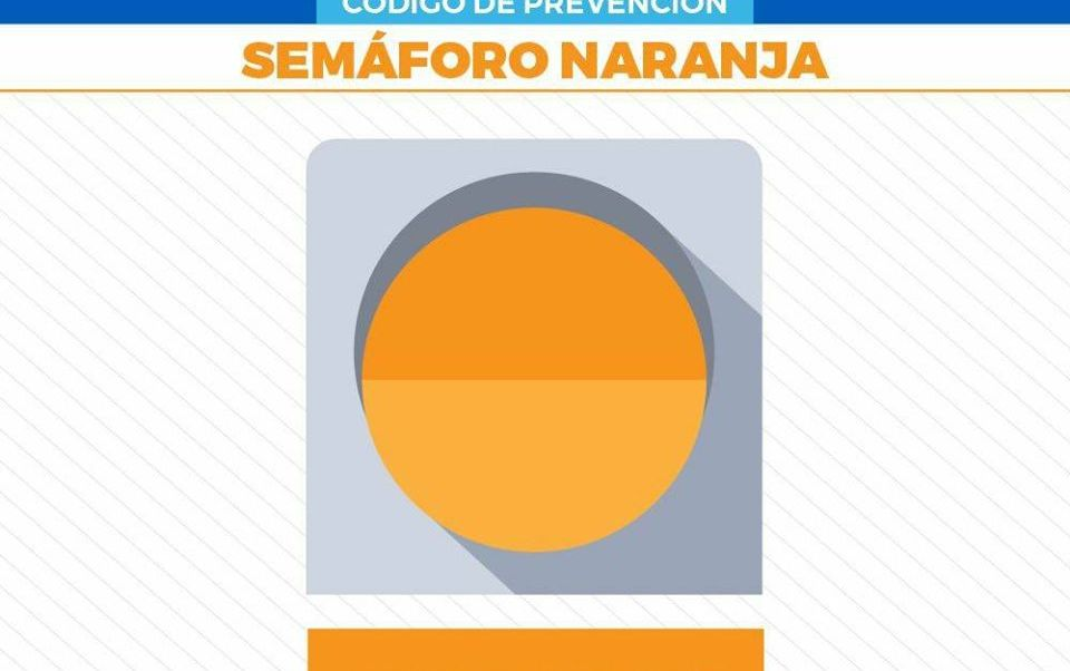 Semáforo naranja en Reynosa por situación de riesgo