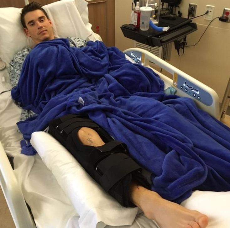 Joe Tanner sobrevivir a un ataque de tiburón; necesita tres operaciones en su pierna (Foto: mirror)