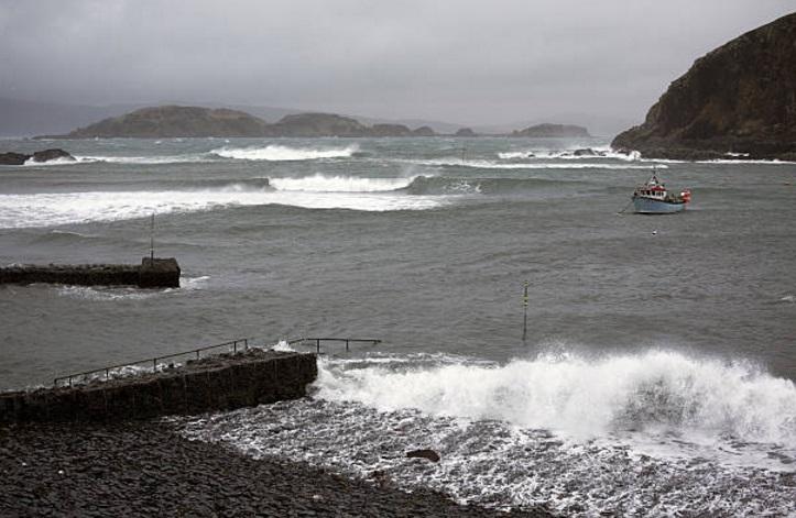 Una tormenta en Argyll en la costa oeste de Escocia (Getty Images)