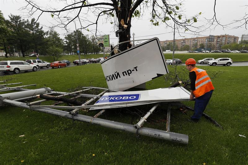 Clima, temporal, Moscú, Rusia, muertos, heridos, seguridad