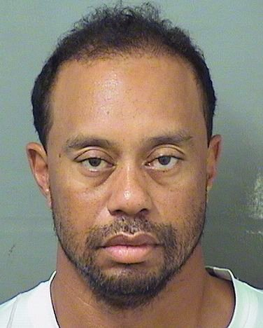 Tiger Woods detenido en Florida por conducir bajo la influencia