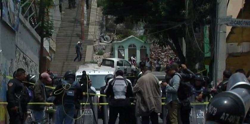 tiroteo, Santiago Atzacoalco, GAM, policía muerto