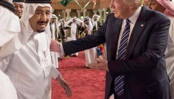 Donald trump, arabia saudita, cumbre con paises del golfo, riad, golfo persico, catar