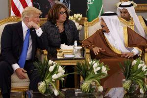 Donald Trump, Arabia Saudita, Melania, Estados Unidos, política, viaje