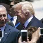 El presidente Donald Trump y el primer ministro de Israel, Benjamín Netanyahu (EFE)