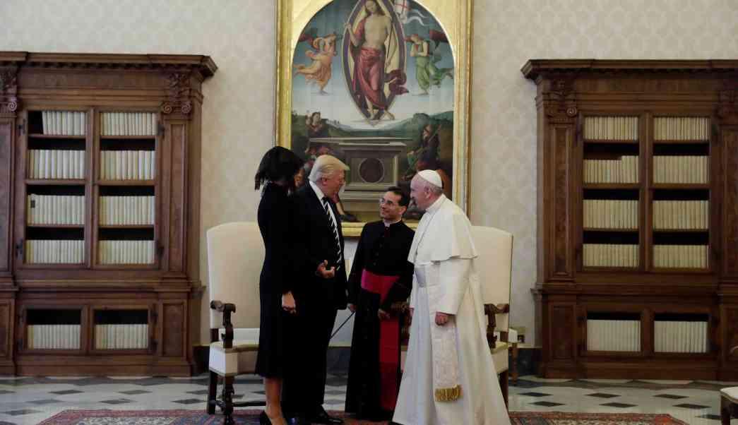 La reunión y desacuerdos entre el Papa Francisco y Donald Trump