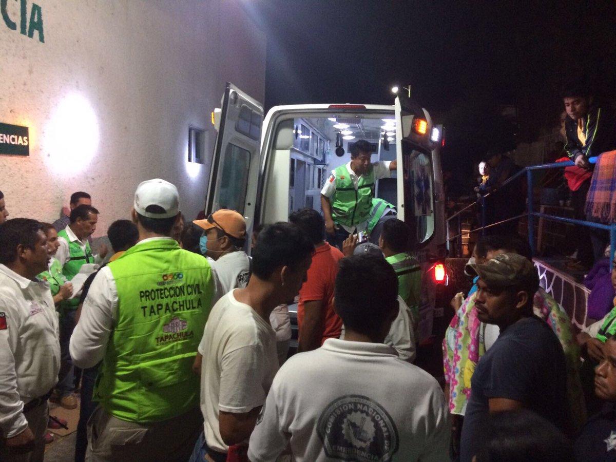 Unidad de Acacoyagua traslada a paciente de 13 años a Tapachula