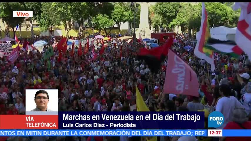 periodista, Luis Carlos Díaz, marchas, Venezuela