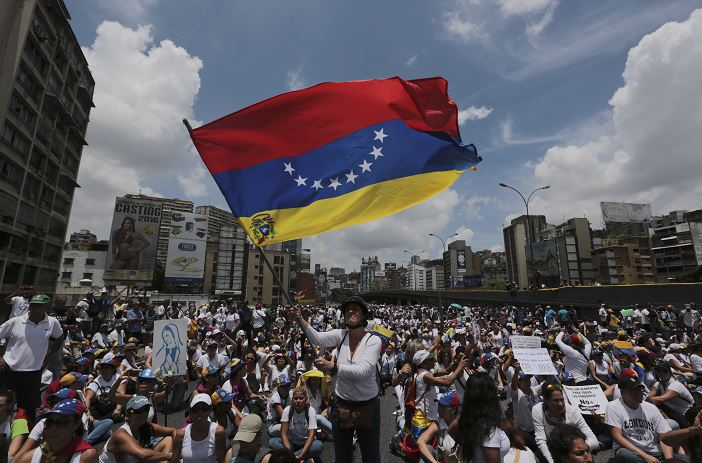 Protestas en Venezuela contra el gobierno de Nicolas Maduro