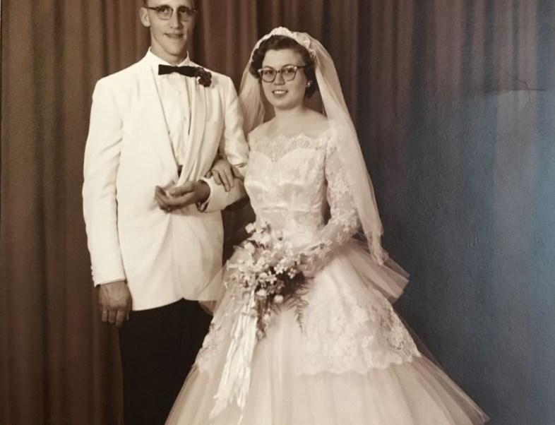 Janith y Joe Goedde se casaron el 11 de mayo de 1957 (Foto: page1publications)