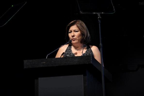 Isabel miranda de wallace da una conferencia en Nueva York