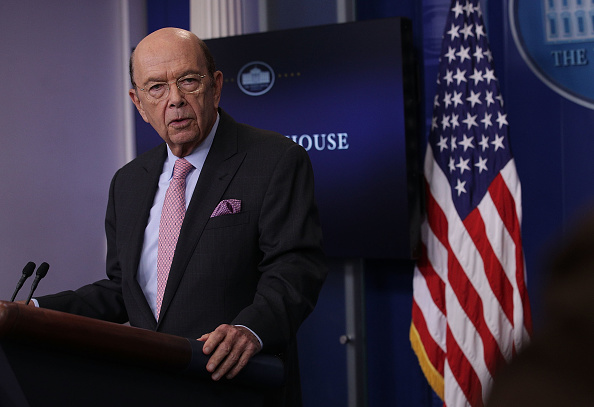 Wilbur Ross, secretario de Comercio de Estados Unidos. (Getty Images)