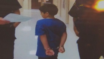 Policía esposa a niño de 7 años en Estados Unidos