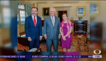 Videgaray, Tillerson, Chrystia Freeland, temas regionales, desarrollo de la región