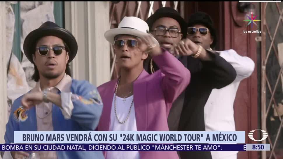 Bruno Mars, Magic World Tour, Ciudad de México, Monterrey, Guadalajara,