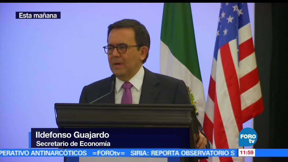 noticias, forotv, Ildefonso Guajardo, habla, comercio internacional, tlcan