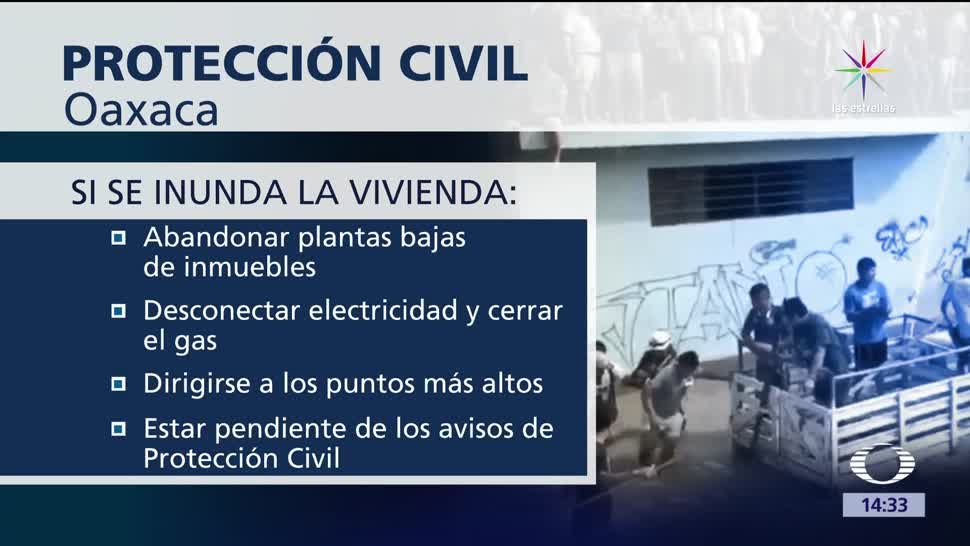 noticias, televisa, Oaxaca, alerta, tormenta, Beatriz