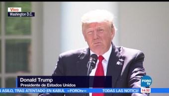 noticias, forotv, Trump, anuncia, retiro de EU, Acuerdo de París