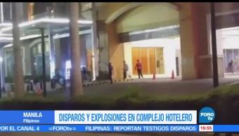 noticias, forotv, Ataque, armado, hotel, Manila