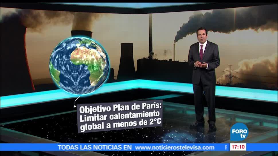 noticias, forotv, Consecuencias, cambio climático, acuerdo de Paris, calentamiento global