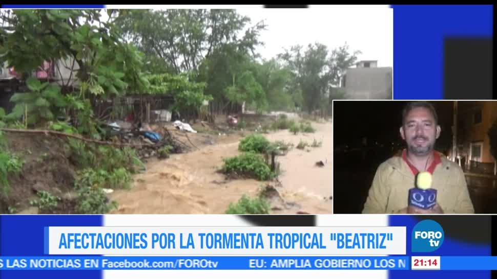 Beatriz, tocará tierra, Oaxaca, tormenta tropical, alerta, costas