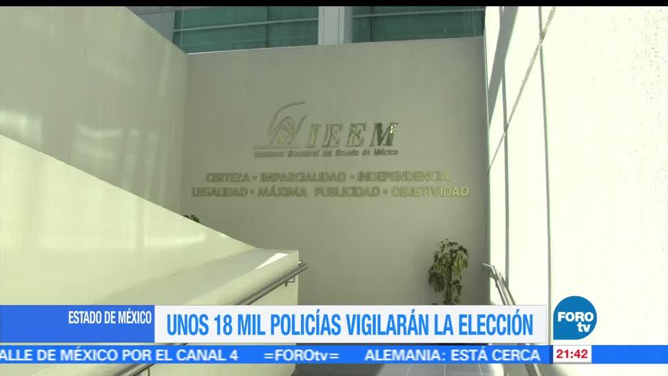 Estado de México, listo, jornada, electoral, elecciones, votaciones