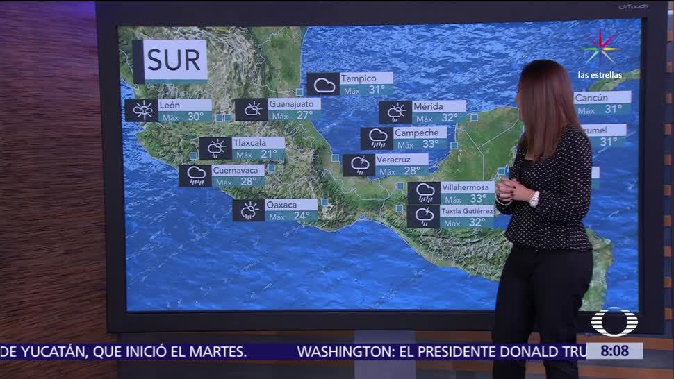 El clima, raquel mendez, Depresión tropical Beatriz, tormentas torrenciales