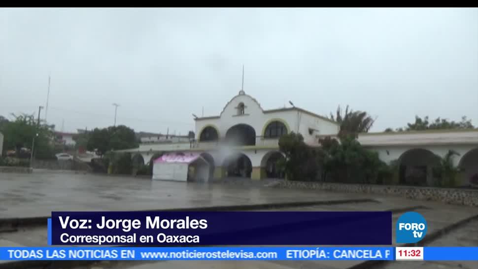 Dos muertos, dos desaparecidos, depresión tropical Beatriz, Oaxaca