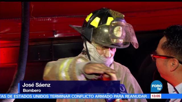 Indigente, provoca, incendio, Línea B del Metro
