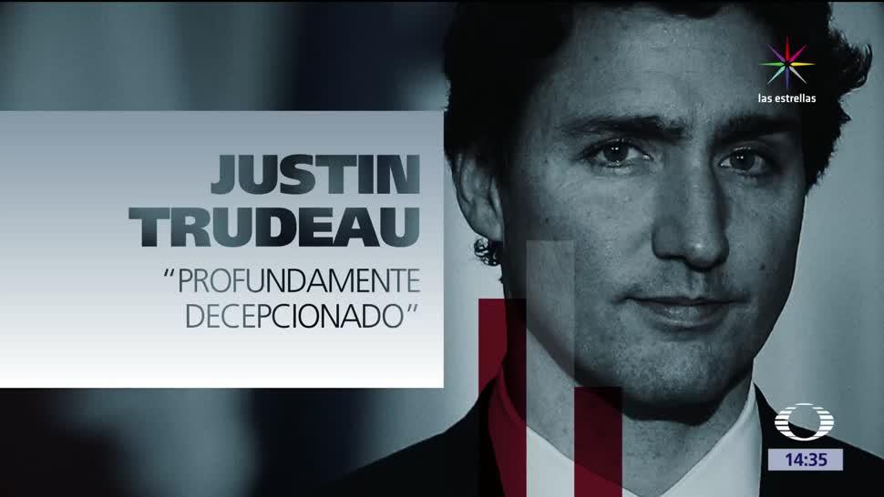 Trudeau, profundamente, decepcionado, salida EU, Acuerdo de París, cambio climático