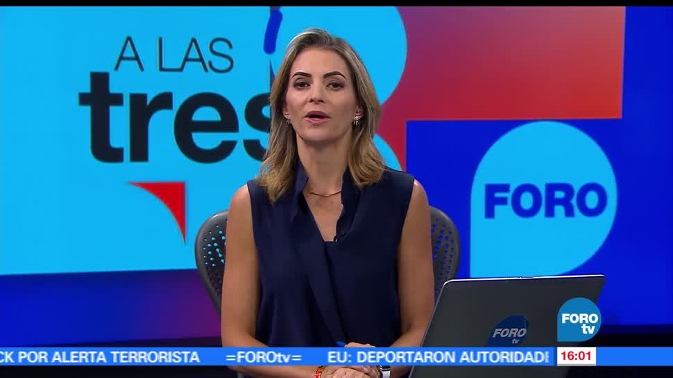 Noticieros Televisa, FOROTv, Televisa News, A las tres, Ana Paula Ordordica, junio
